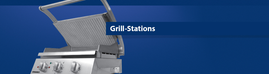 Roband Grill-Stationen