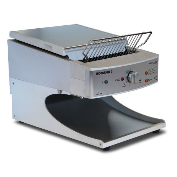 Roband - Professioneller Durchlauftoaster Sycloid - Serie ST500 - Silber