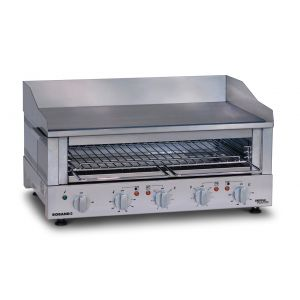 Roband - Professional Griddle Toaster - Series GT7 - Griddle and Salamander