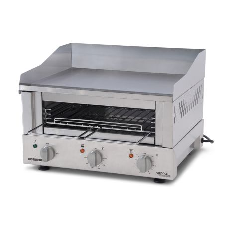 Roband - Professioneller Griddle Toaster - Serie GT5 - Grillplatte und Salamander